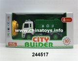 2017 Plastic Toy 2CH Remote Control Construction Car (244517)