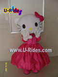 Hello Kitty Character Mascott Fur Costume