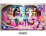 New Plastic Toys for Girl Elf Doll Solid Joint Winx Doll (952659)
