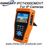 Universal Touch Screen IP Camera Test Monitor with Tdr (IPCT4300CMOVT)