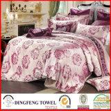 Fashion Poly-Cotton Jacquard Bedding Set Df-C140