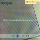 Silk Screen Printing Tempered Glass Panel with Pattern