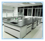 Steel Frame Wooden Microbiology Laboratory Bench