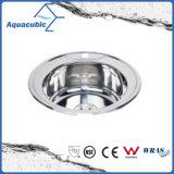 Round Stainless Steel Moduled Kitchen Sink (ACS-490)