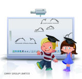 Portable Education Equipment High Touch Accuracy Interactive Electronic Whiteboard for Children Study