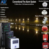 12-Zone Conventional Fire Alarm Sensing System