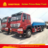 Sinotruk 6X4 20cbm Golden Prince Water Truck for Sale
