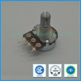 0.05W 16mm Single Gang Carbon Rotary Potentiometer