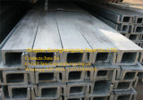 Q235B Pre-Galvanized High Quality Steel Channel in Different Sizes
