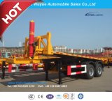 20 Feet 3 Axle Container Dump Semitrailer or Tipper Truck Semi Trailer