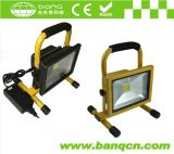 Outdoor Flood Light Epistar Chip 20W LED Rechargeable Lamp