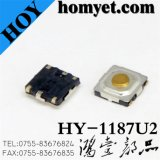 High Quality Tact Switch with 4*4*1.5mm 4pin SMD