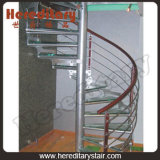 Treads Spiral Staircases with Handrail for Indoor (SJ-3010)