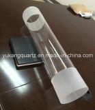 Unimin Sand Material Quartz Tube for Semiconductor/Solar Used