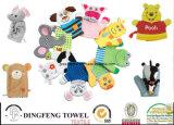 2016 New Fashion Soft Baby Bath Mitt Molton Washing Gloves