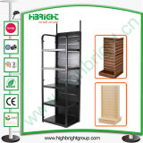 Retail Shop MDF Display Stand and Wood Shelf