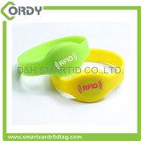 cheap MIFARE 1k bracelet 13.56MHz RFID silicone wristbands