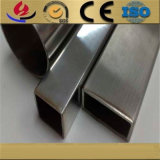 Hairline Finish 304 Stainless Steel Rectangular and Square Pipe for Decoration