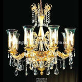 Bright Brass Candle Pendant Lamp (PX0238/D8)