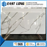 Artificial Calacatta Quartz Stone Slab/ Countertop/ Solid Surface/ Building Material