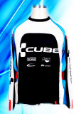 100% Polyester Man′s Long Sleeve Cycling Jersey
