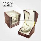 Custom Design 2+0 Wood Automatic Watch Winder