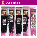 Virgin Hair Extension Brazilian Hair Weave 100% Remy Human Hair