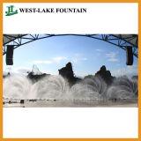 Large Laser Music Water Dancing Fountain at Vietnam Nha Trang Vinpearl Land