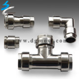OEM Welding Stainless Steel Pipe Fittings Connector
