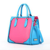 New Arrival Colorful Frame PU Leather Ladies Handbags (D13031)