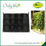 Onlylife Ecofriendly High Quality Hanging Grow Bag Felt Vertical Planter