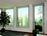 New Double Safety Glass Aluminum Window/Aluminium Window Design