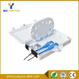 ABS Material 2 Port FTTH Fiber Optic Distribution Box