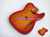 Tl Guitar Body / Sunburst Color / Ash Wood / Afanti Electric Guitar Body (ATL-185C)