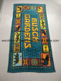 Promotional Custom Reactive Printed Beach Towel