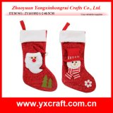 Christmas Decoration (ZY16Y092-1-2 40.5CM) Santa Claus Blink Sock Christmas Gift Ideas