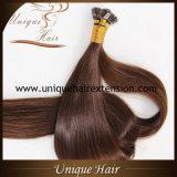 Brazilian Virgin Italia Keratin Pre Bonded Hair Extensions Flat Tip