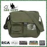 Olive Drab Canvas Travel Bag