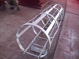 Steel Structure Fabrication Crane Parts (Ladder)