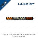 Lmusonu IP67 Wholesale 120W 22 Inch Straight Amber LED Light Bar Single Row Offroad for ATV/UTV/4X4 Vehicles