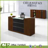 Small Fashion Customzied Office Reception Counter for Reception Area