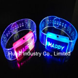 Light up Silicone Wrist Bands Imprint Logo