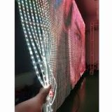 Outdoor Full Color Moving LED Mesh Flexible LED Display for Rental