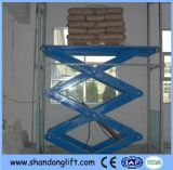 Scissor Hydraulic Warehouse Lift with CE