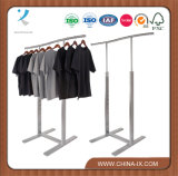 Retail Clothing Rack with Wave Hangrail