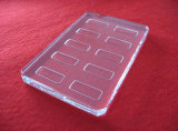 Customized Clear Quartz Plate with Groove