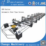 Spo Series Automatic Oval Type Screen Printing Machine