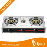 Popular Jp-Gc304 Three Burner Gas Stove in Ghana