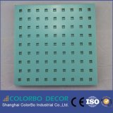 Auditorium Sound Insulation Wooden Perforated Acoustic Board