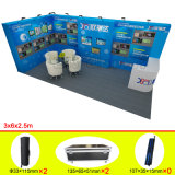 Aluminum PVC Fabric DIY Modular Exhibition Booth